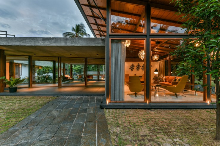The Skew House, at Kerala, by Thought Parallels Architecture 19
