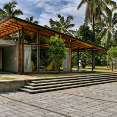 The Skew House - Thoughts Parallel Architecture - Kerala