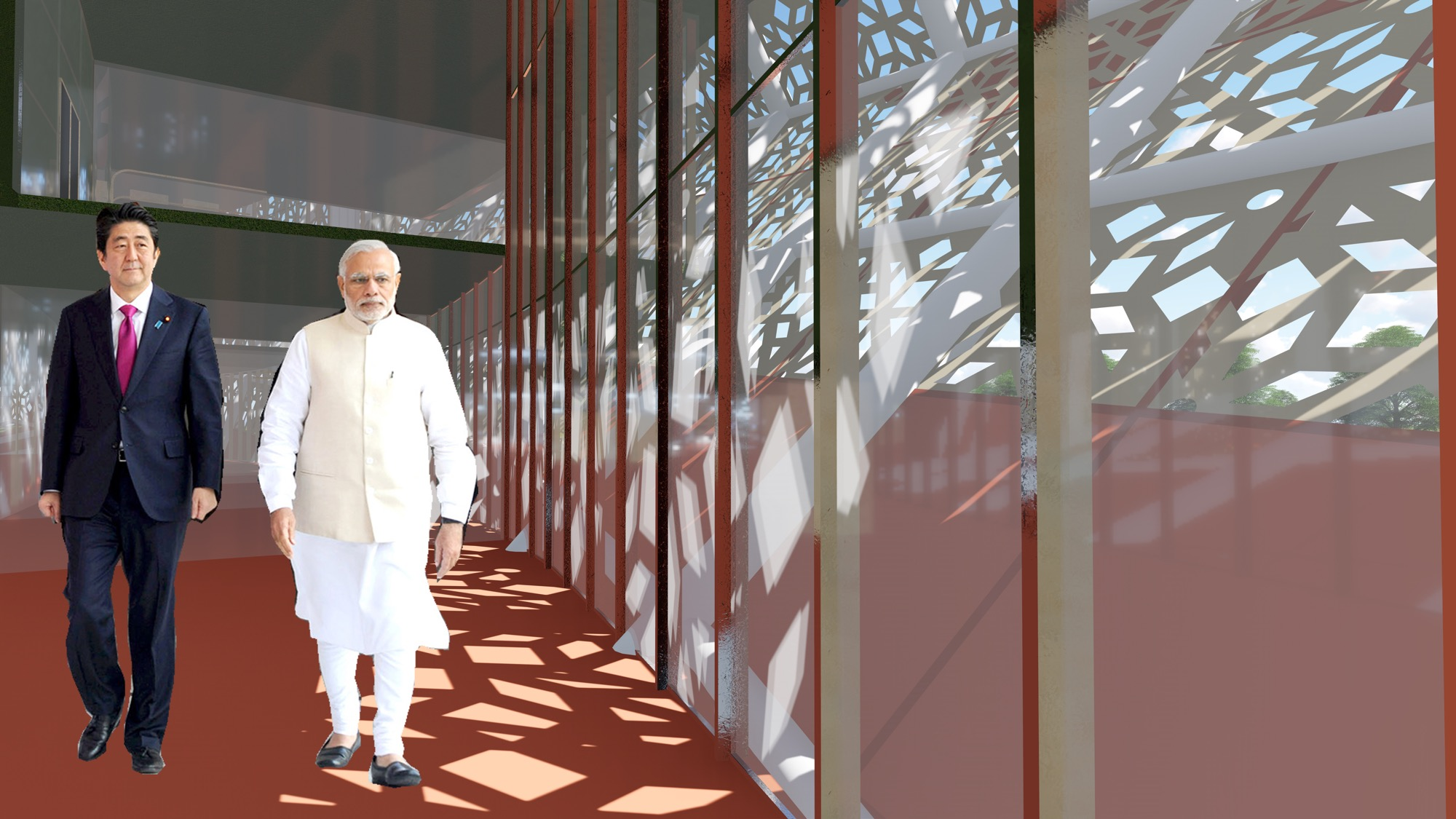 B.Arch Thesis: Emotions of a Democracy: New Parliament House of India, New Delhi Dhruval Shah 5