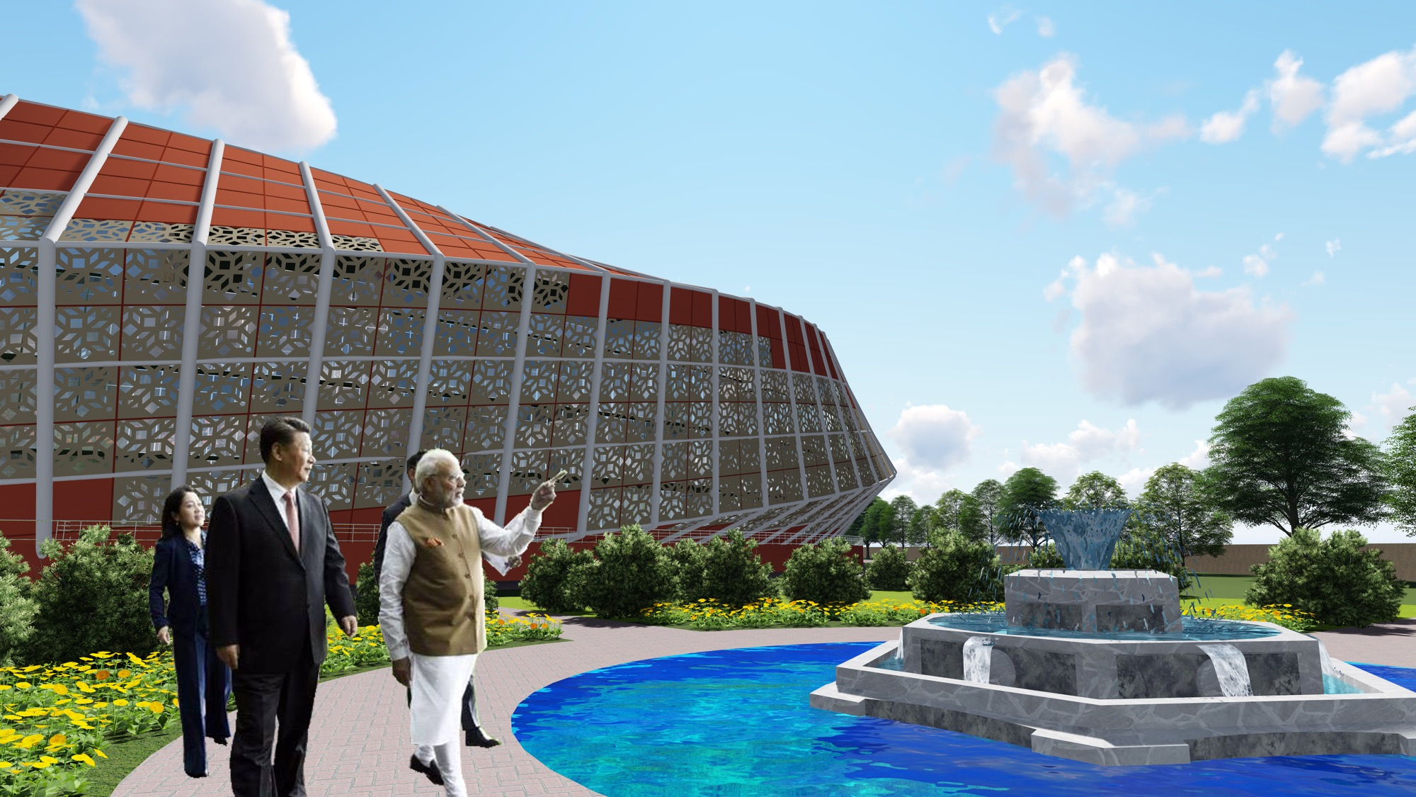 B.Arch Thesis: Emotions of a Democracy: New Parliament House of India, New Delhi Dhruval Shah 7