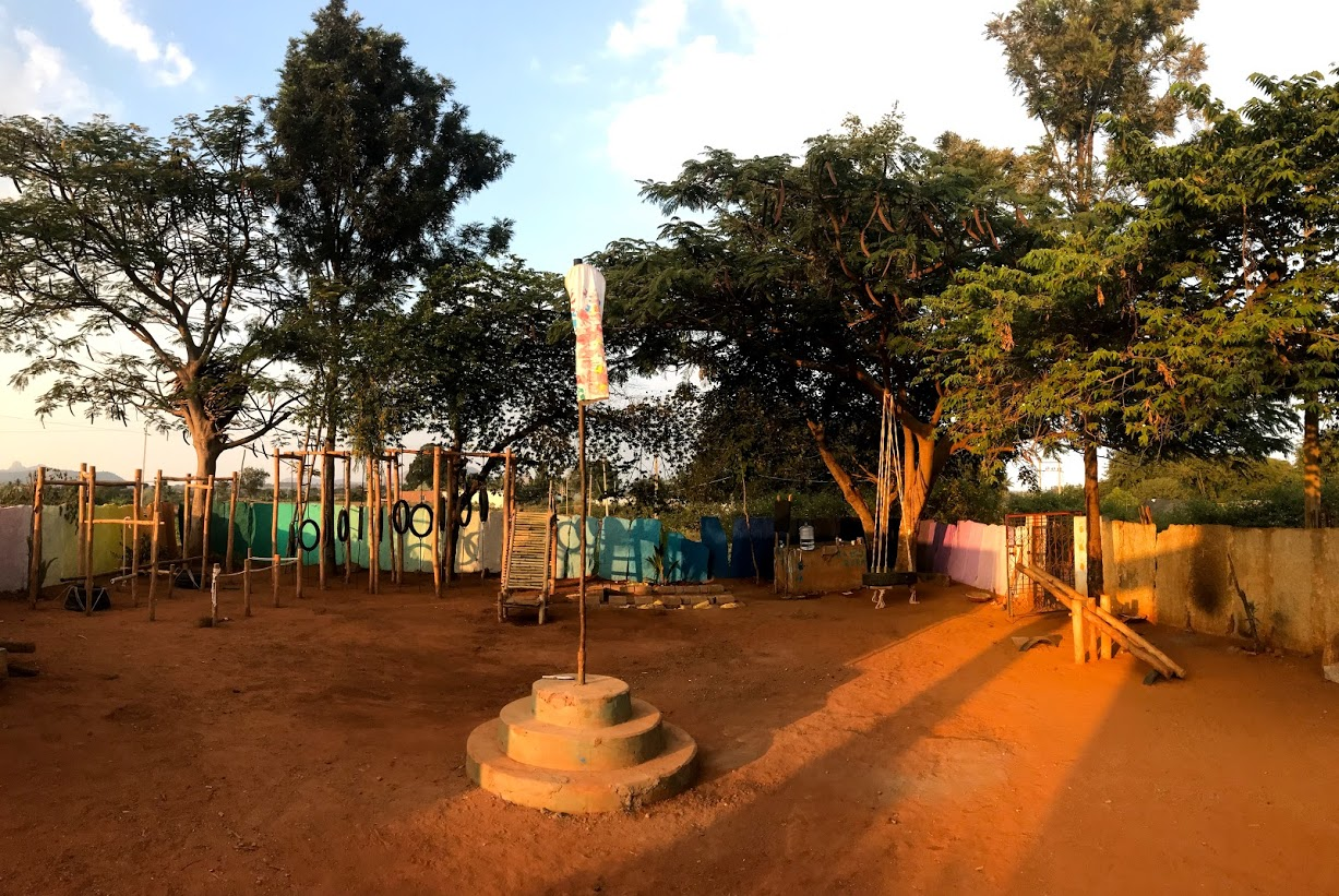 The Vernacular Playground in a remote village of Karanataka, by GrassrootED 11