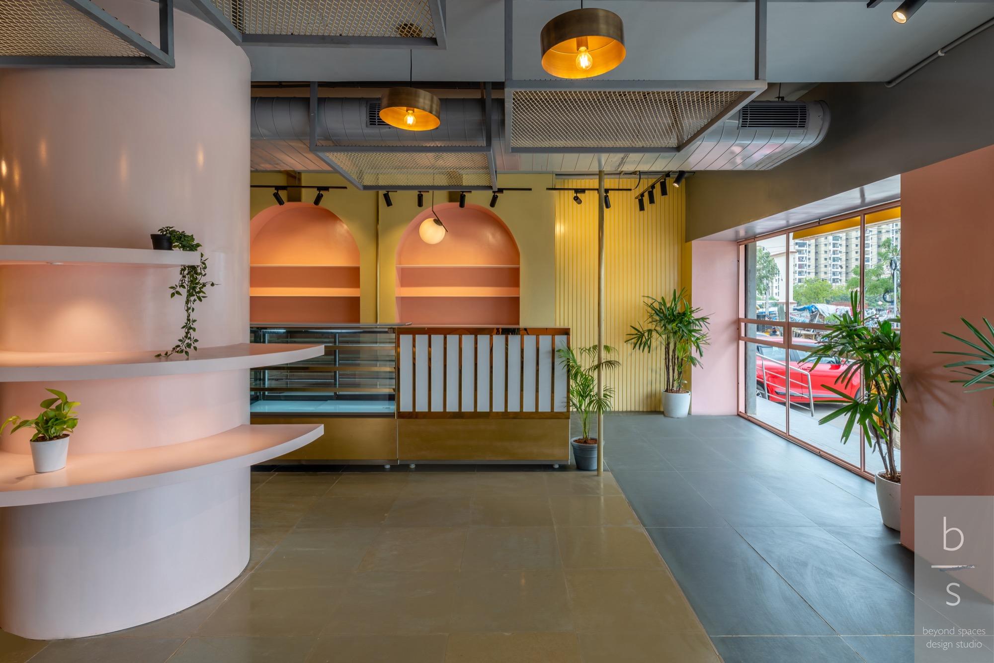 G Pulla Reddy Sweets, interior design by Beyond Spaces Design Studio 21