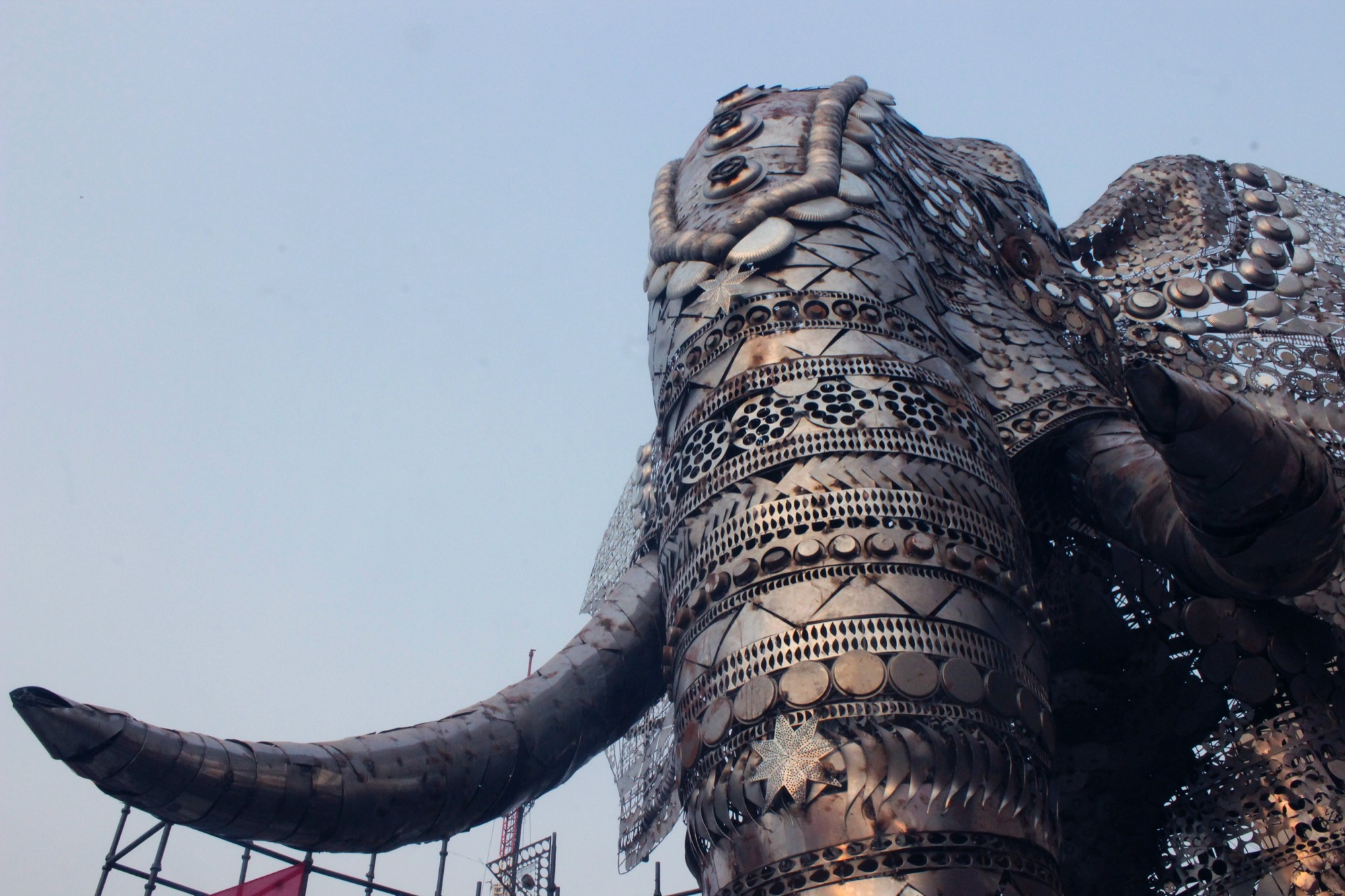 Giant Animal Installations at Indian Handicrafts and Gift Fair Exhibition, by TOD Design Innovations 16