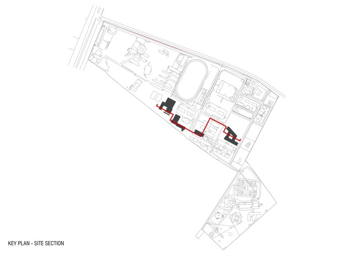 Key Plan Crescent College of Architecture, architectureRED