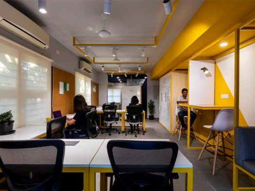 The Kabadiwalla Connect Workspace at Chennai by Drawing Hands Studio 41