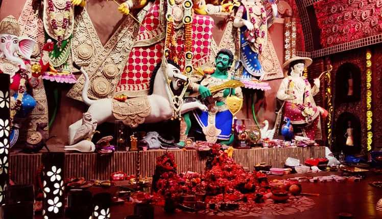 Kolkata's Unexplored Durga Puja Scenography, a photo story  by Arghya Ghosh 55