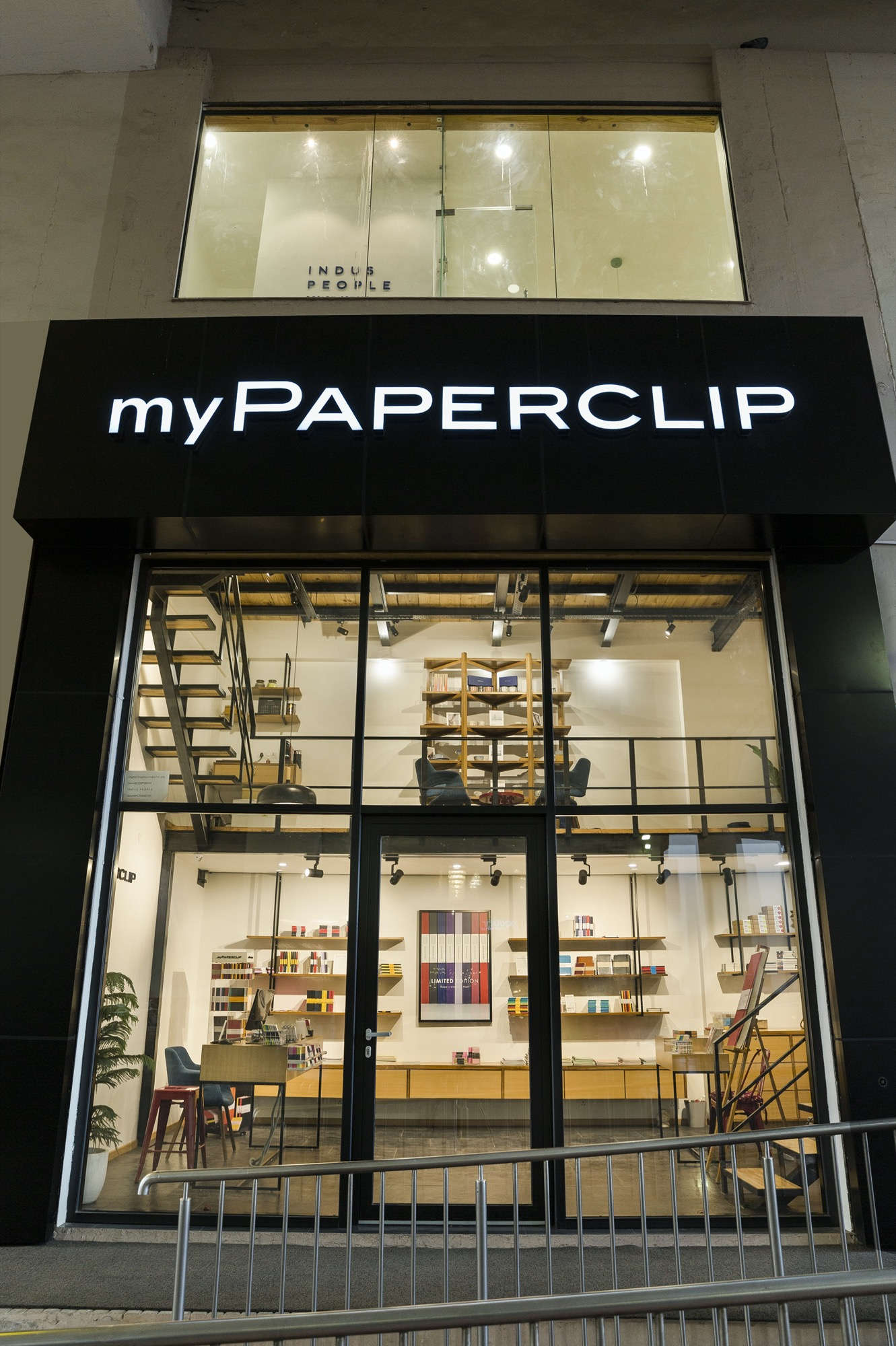 Mypaperclip Flagship Store – Stationery Experience Center at Gurgaon, by Sync Design Studio 1