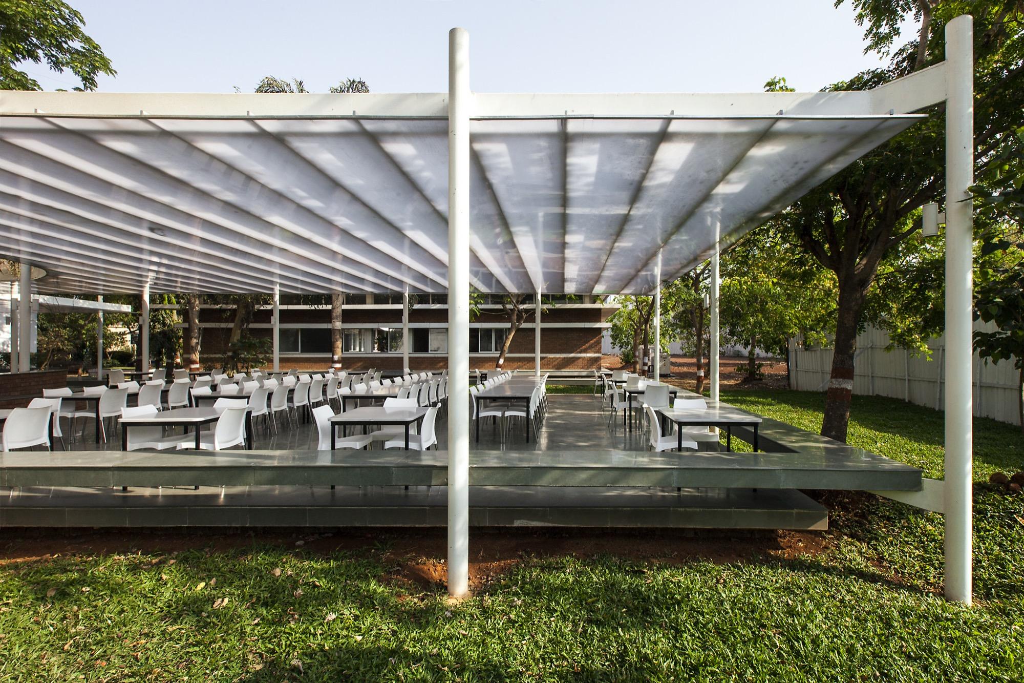 K.J. Somaiya IT Cafeteria Pavilion, by Sameep Padora and Associates