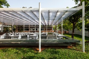 K.J. Somaiya IT Cafeteria Pavilion, by Sameep Padora and Associates