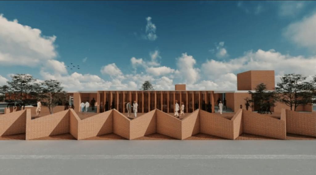 Truck Driver's Village, at Chitradurga, by Rohan Chavan Architects. 83