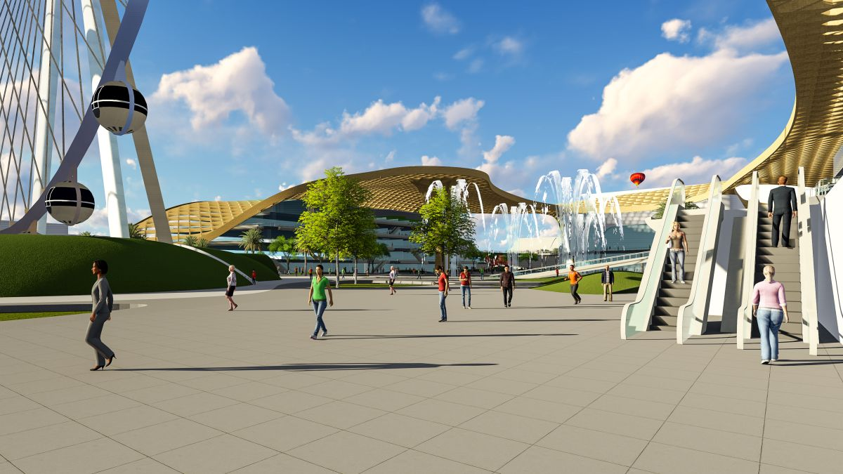 B.Arch Thesis : URBAN ENTERTAINMENT CENTRE, at Noida by KUNAL LUTHRA 23