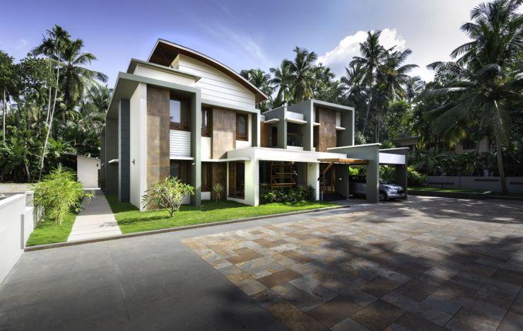 Residence for Mr. Shaheed, at Elangode, Kerala by Nufail Shabana Architects 2