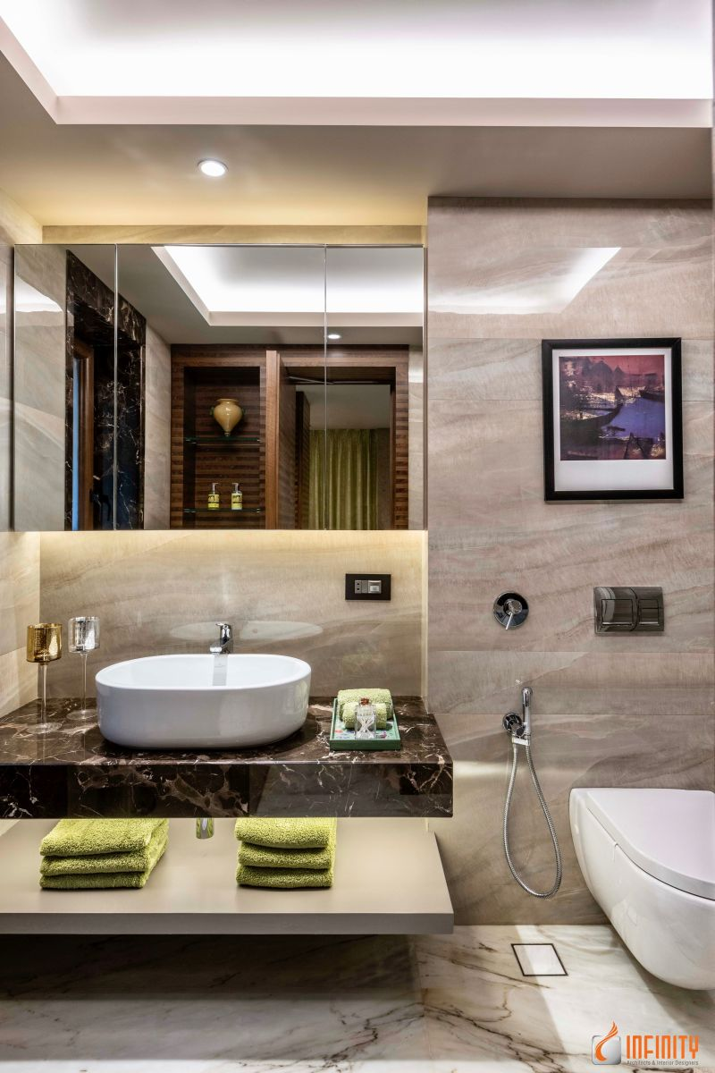 An Inside Look of a Neo-Classical Infinity Design, at Pune, Maharashtra, by Infinity Architects and Interior Designers 36