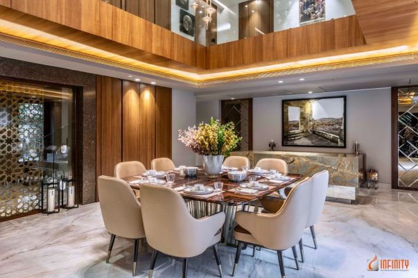 An Inside Look of a Neo-Classical Infinity Design, at Pune, Maharashtra, by Infinity Architects and Interior Designers 18