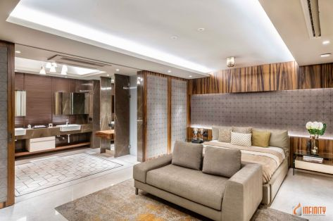 An Inside Look of a Neo-Classical Infinity Design, at Pune, Maharashtra, by Infinity Architects and Interior Designers 22