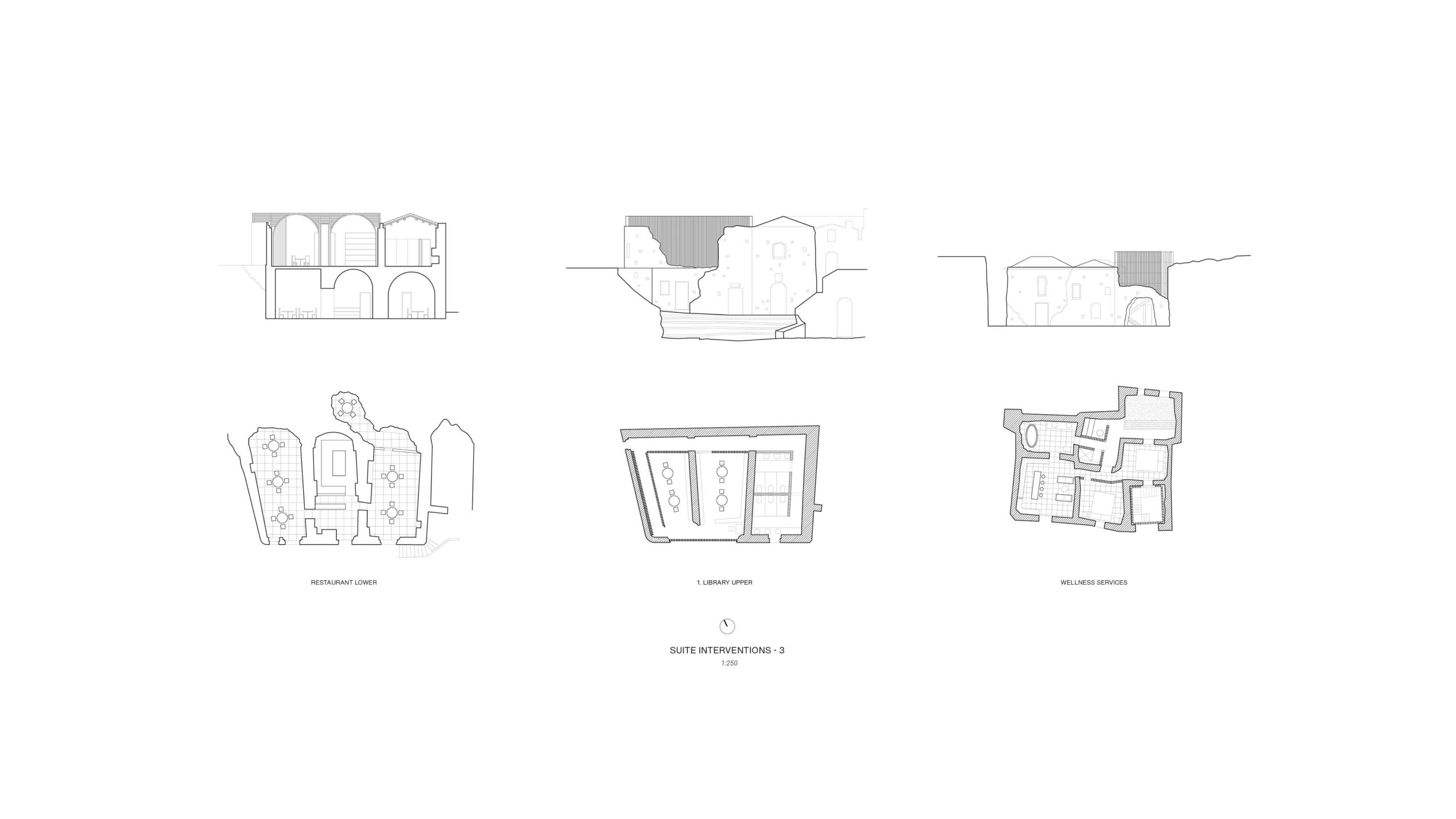 Unbuilt : TRACES - GHOST TOWN REFUGE, at Craco, Italy, by Claudio C. Araya, Yahya Abdullah 13