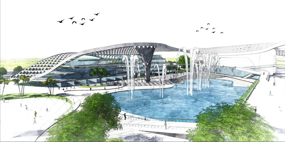 B.Arch Thesis : URBAN ENTERTAINMENT CENTRE, at Noida by KUNAL LUTHRA 15