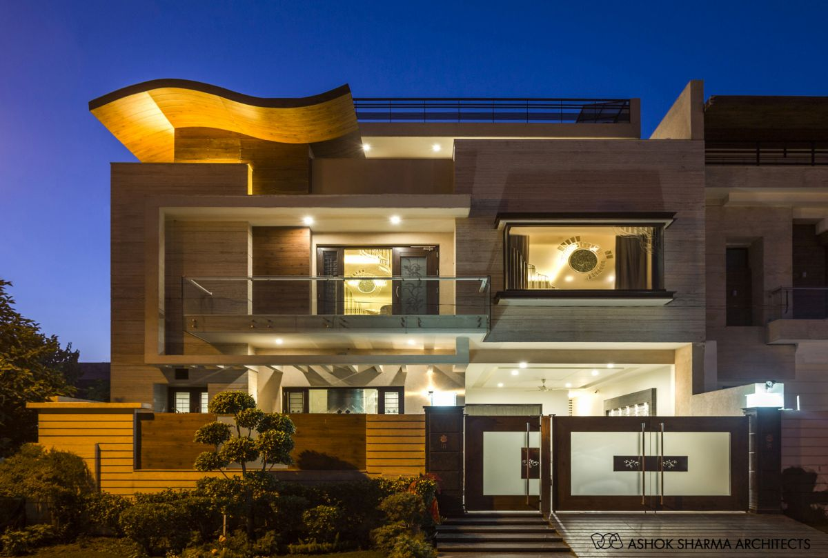 The House of Canopy, at Ludhiana, Punjab, by Ashok Sharma Architects