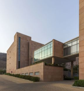 Hexaware Campus, at Hinjawadi, Pune, India, by RSP Design Consultants