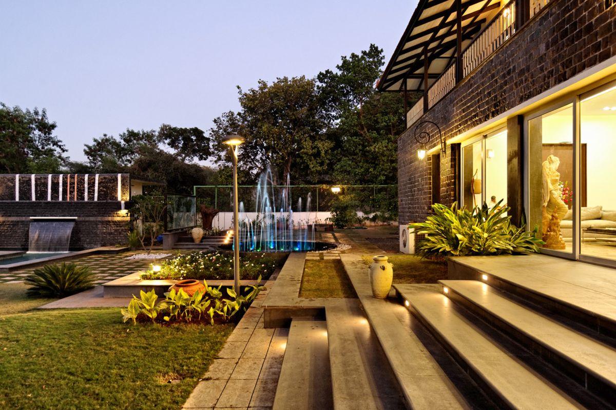 Butterfly Villa, at Nashik, by Origin Architects