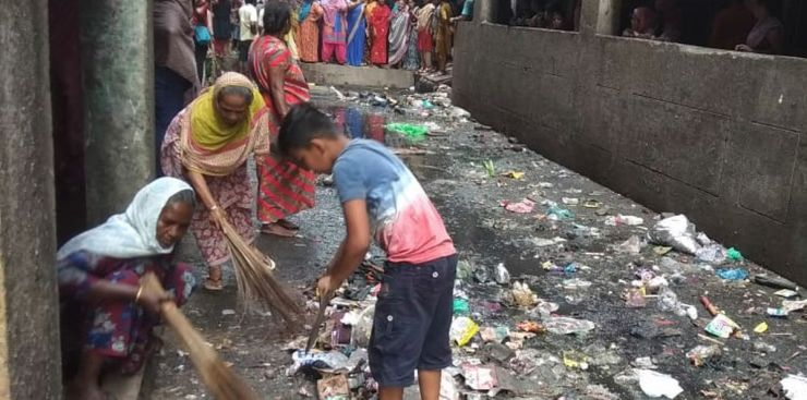 Can Waste Bring Communities Living in High Density Vertical Slums Together?-A Photostory by Bhawna Jaimini and Natasha Sharma 12