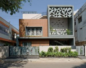 DEVGIRI RESIDENCE at NANDED, MAHARASHTRA, by 4TH AXIS DESIGN STUDIO
