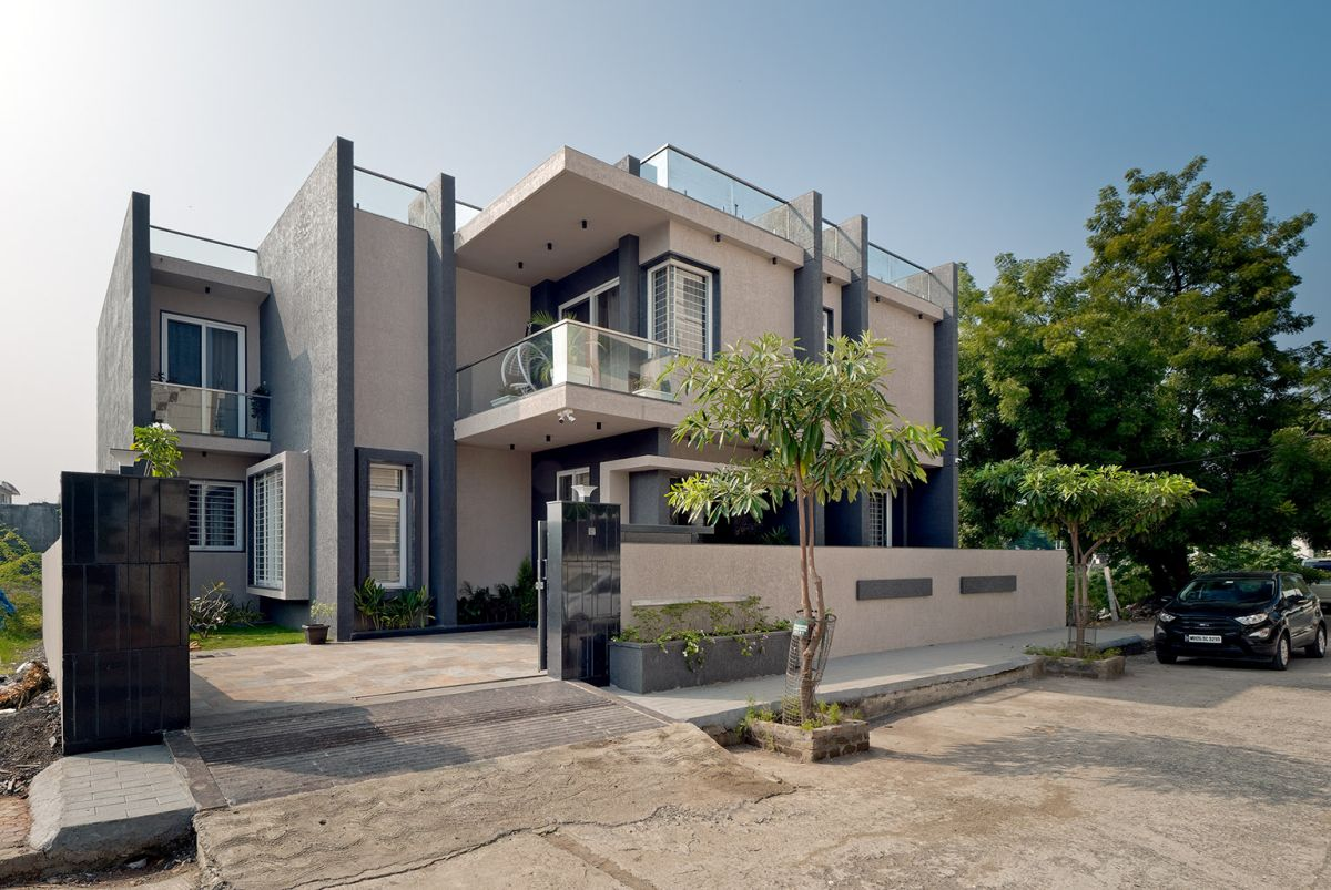 GHEI RESIDENCE at NANDED, MAHARASHTRA, by 4TH AXIS DESIGN STUDIO 2
