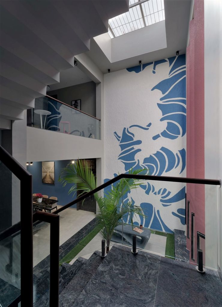 GHEI RESIDENCE at NANDED, MAHARASHTRA, by 4TH AXIS DESIGN STUDIO 44