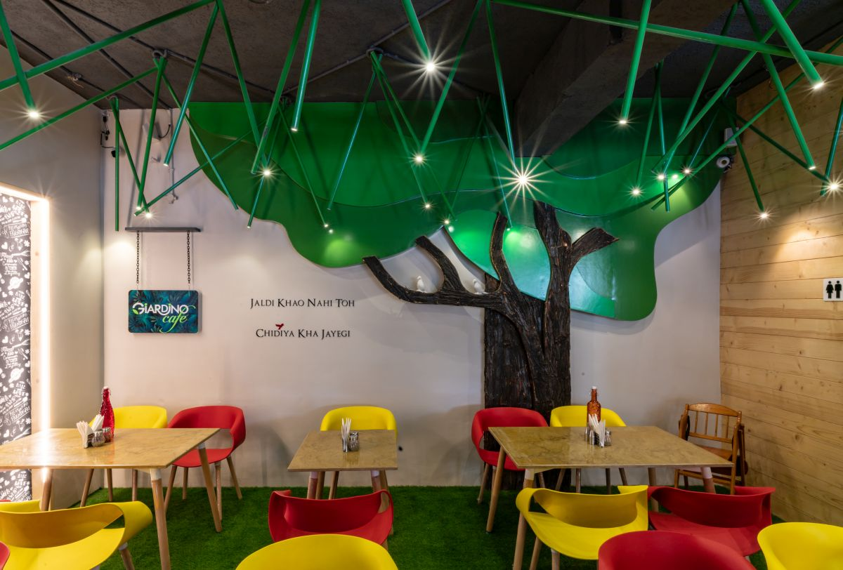 Café's-cum-restaurants, at Jalandhar, Punjab, by Space Race Architects 13