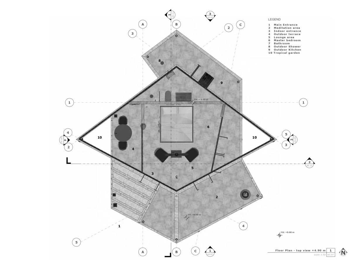 Unbuilt: KH retreat at Cambodia by Architectural Engineering Consultants 17