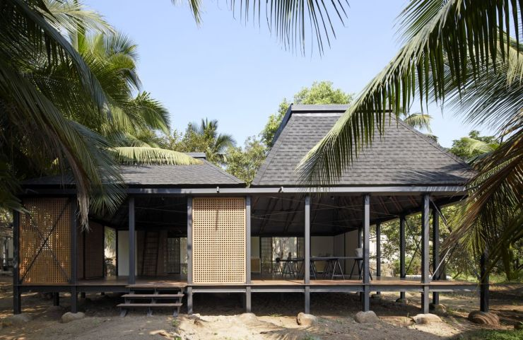 DAK – The Other Side Studio – an artist retreat in Mumbai, by Architecture Brio 2