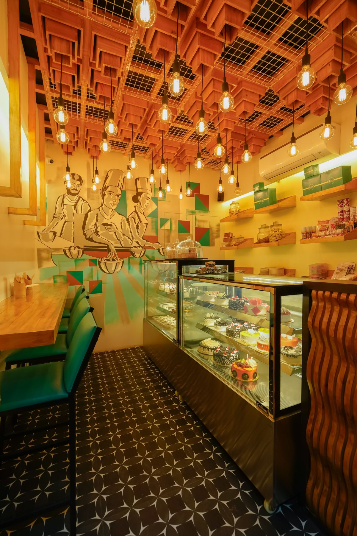 DOZZY BAKER -( A CAKE SHOP ), AT NAGPUR, BY FANP DESIGN STUDIO 1