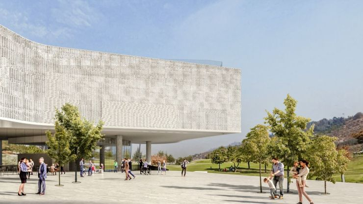 WINNING PROPOSAL FOR THE NEW SANTIAGO'S MUSEUM (NuMu), at Santiago, Chile, by Claudio C. Araya 22