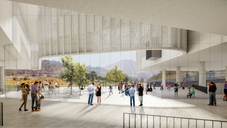 WINNING PROPOSAL FOR THE NEW SANTIAGO'S MUSEUM (NuMu), at Santiago, Chile, by Claudio C. Araya 8