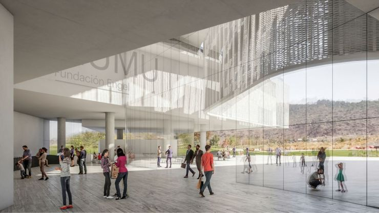 WINNING PROPOSAL FOR THE NEW SANTIAGO'S MUSEUM (NuMu), at Santiago, Chile, by Claudio C. Araya 10