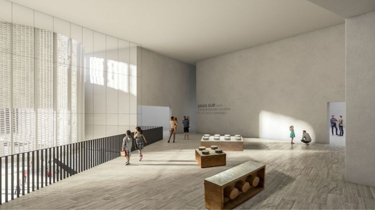 WINNING PROPOSAL FOR THE NEW SANTIAGO'S MUSEUM (NuMu), at Santiago, Chile, by Claudio C. Araya 14