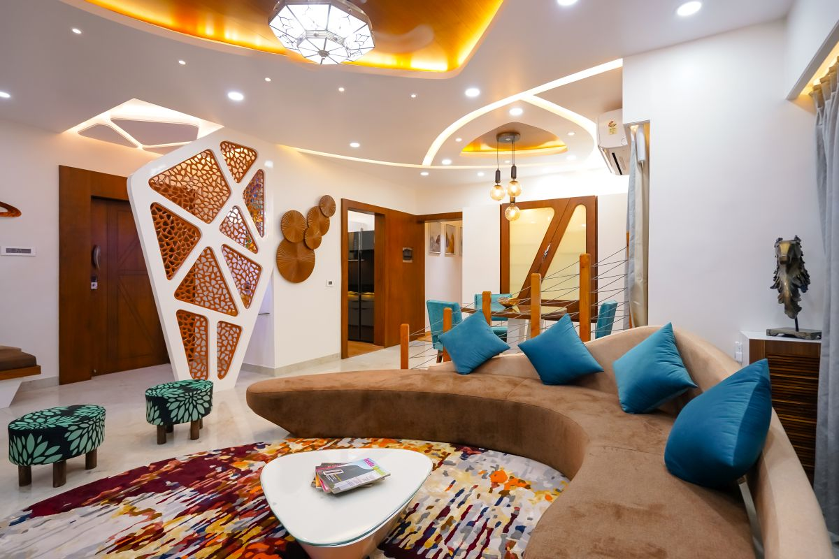Amit Nagdive Residence at Capitol Heights, Nagpur by FANP Design Studio 11
