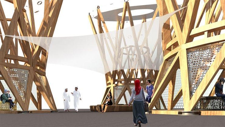 The Souk – Installation at the Dubai Design week, by Collaborative Architecture 4