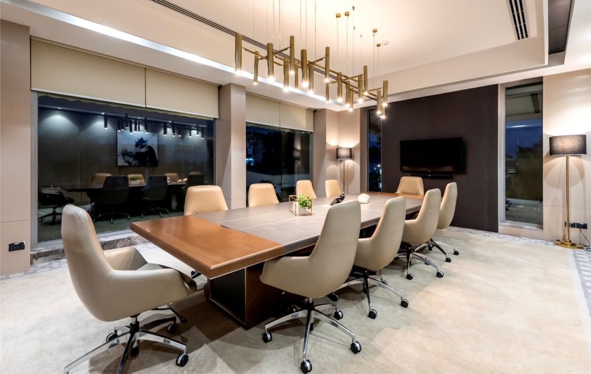 High-End Hospitality Corporate Office, at India, by Parag Singal Architects 6