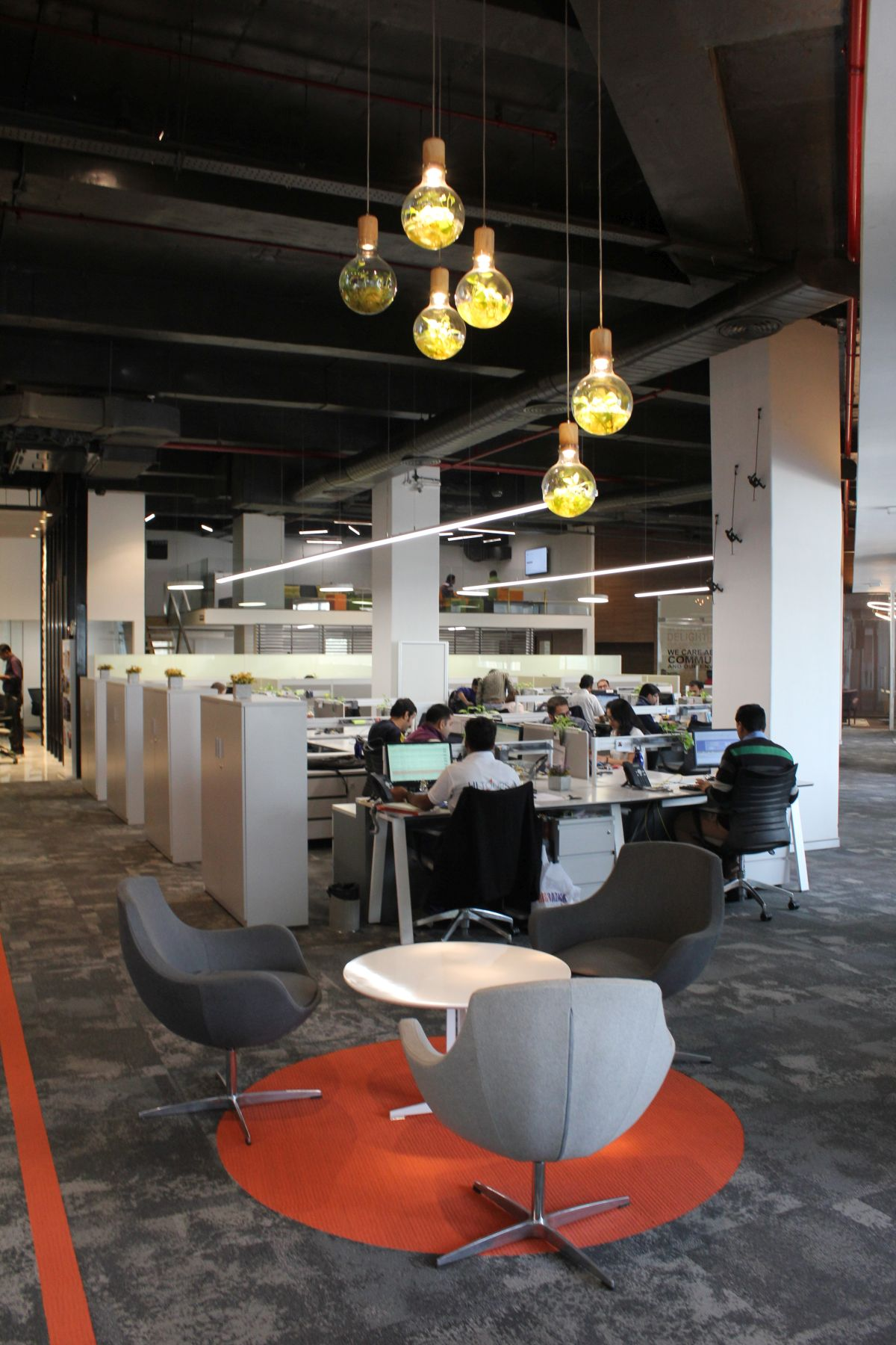 Contemporary Corporate Office, at Gurugram, Haryana, by Parag Singal Architects 10