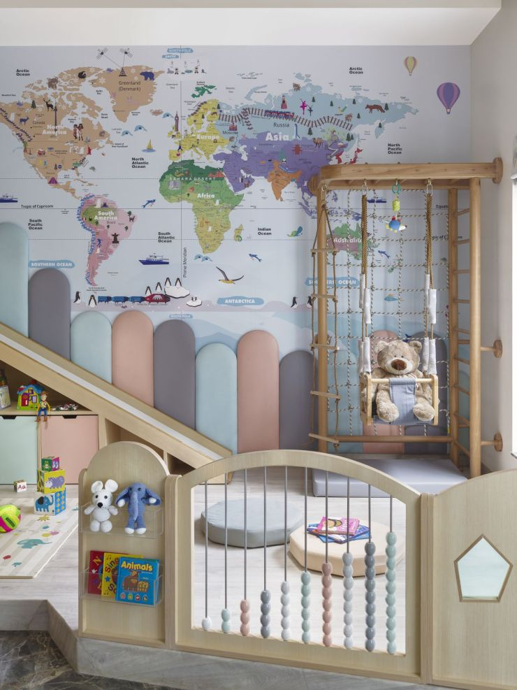 This nursery at Faridabad, by Thinkcutieful is high in style 7