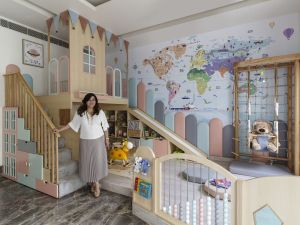 This nursery at Faridabad, by Thinkcutieful is high in style