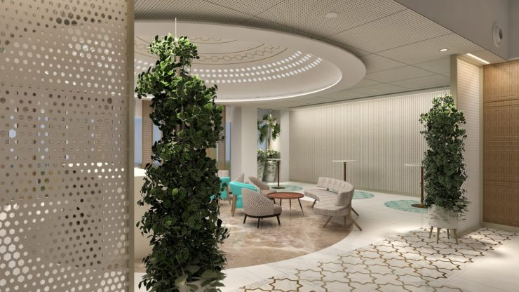 Inspired by the Taj Mahal, Microsoft's newest office is a workspace of art, by RSP Design Consultants 3