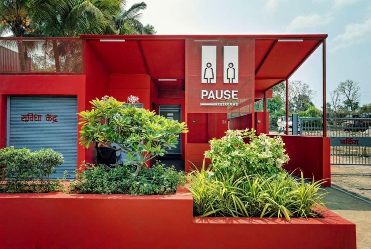 Pause - Restrooms, at Bombay-Goa Highway, by RC Architects 1