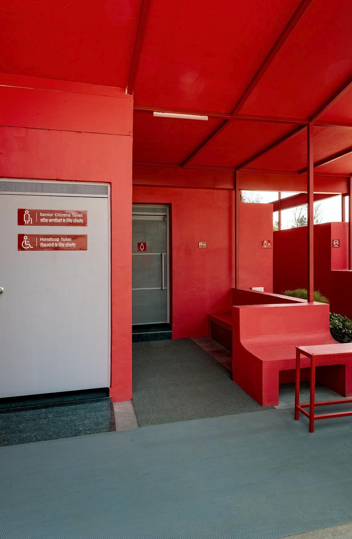 Pause - Restrooms, at Bombay-Goa Highway, by RC Architects 3