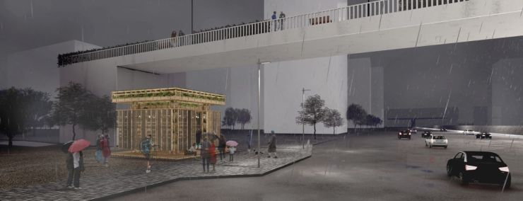 A Pavilion that Grows!, at Gurugram, by Dhruv Shah 7