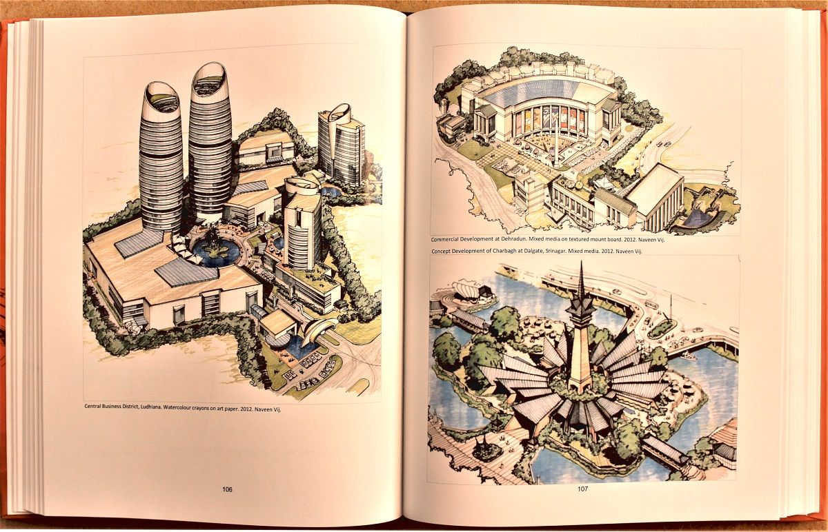 ARCHITECTURAL RENDERING: HAND-DRAWN PERSPECTIVES & SKETCHES - Book Review by Dr Pankaj Chhabra 12