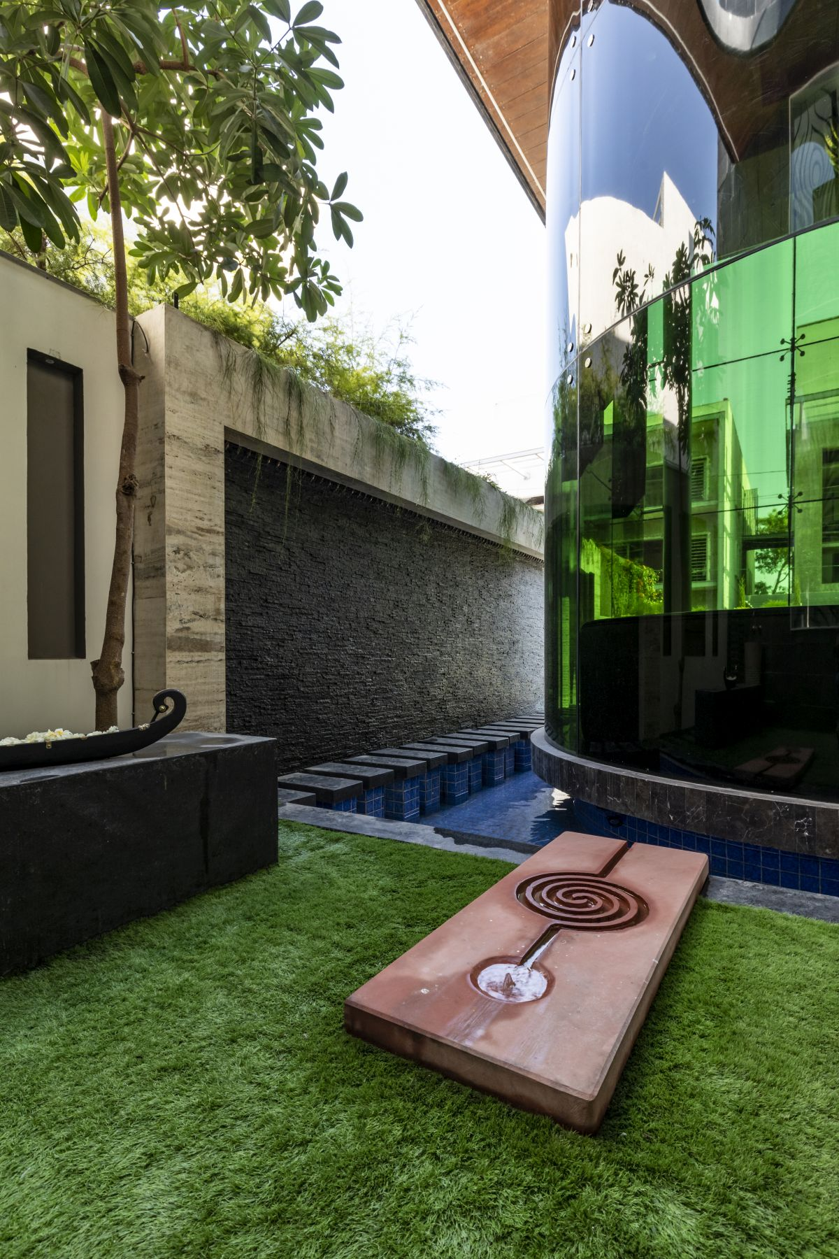The Leaf House, at Indore, M.P, by Span Architects 22