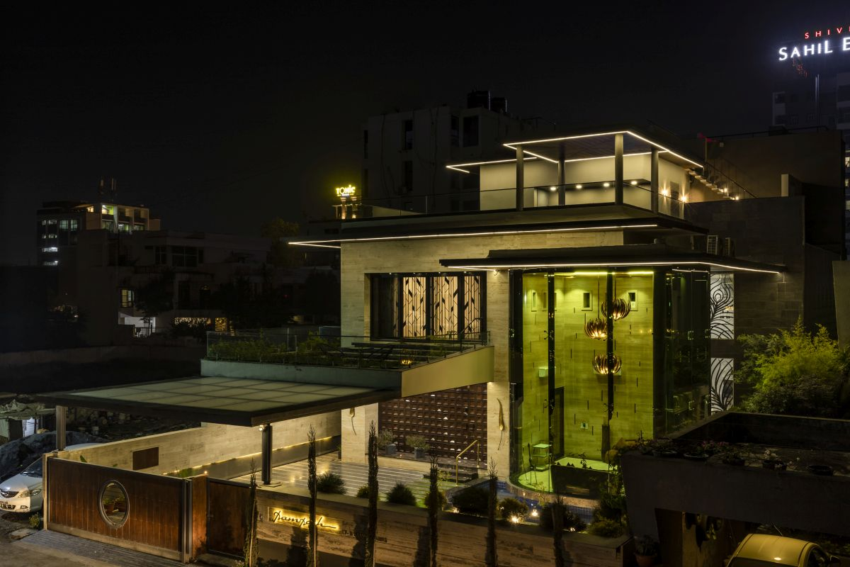 The Leaf House, at Indore, M.P, by Span Architects 8