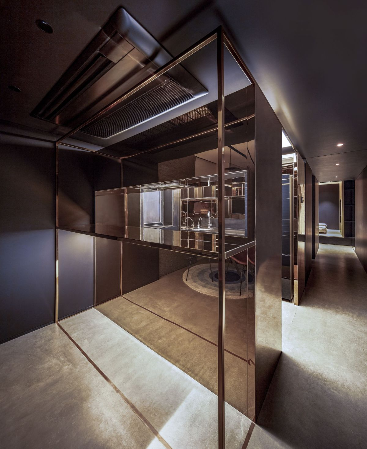 Copper Cube Hause, at Mumbai, by DIG Architects 17